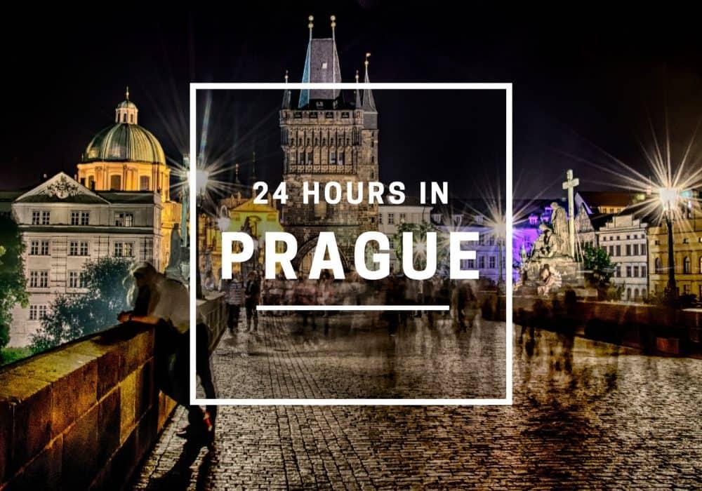 24 Hours in Prague, Czech Republic