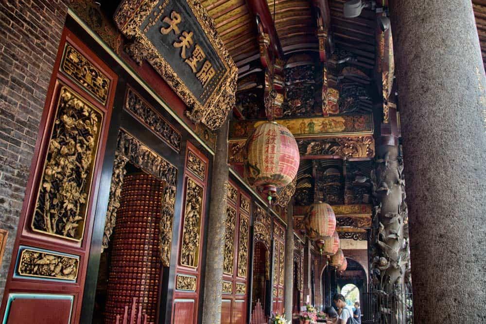 Bao'an Temple in Taipei, Taiwan