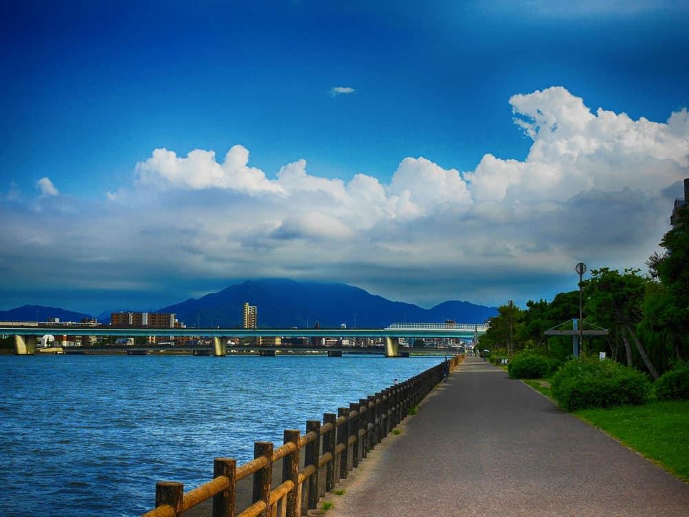 Summer in Fukuoka, Japan