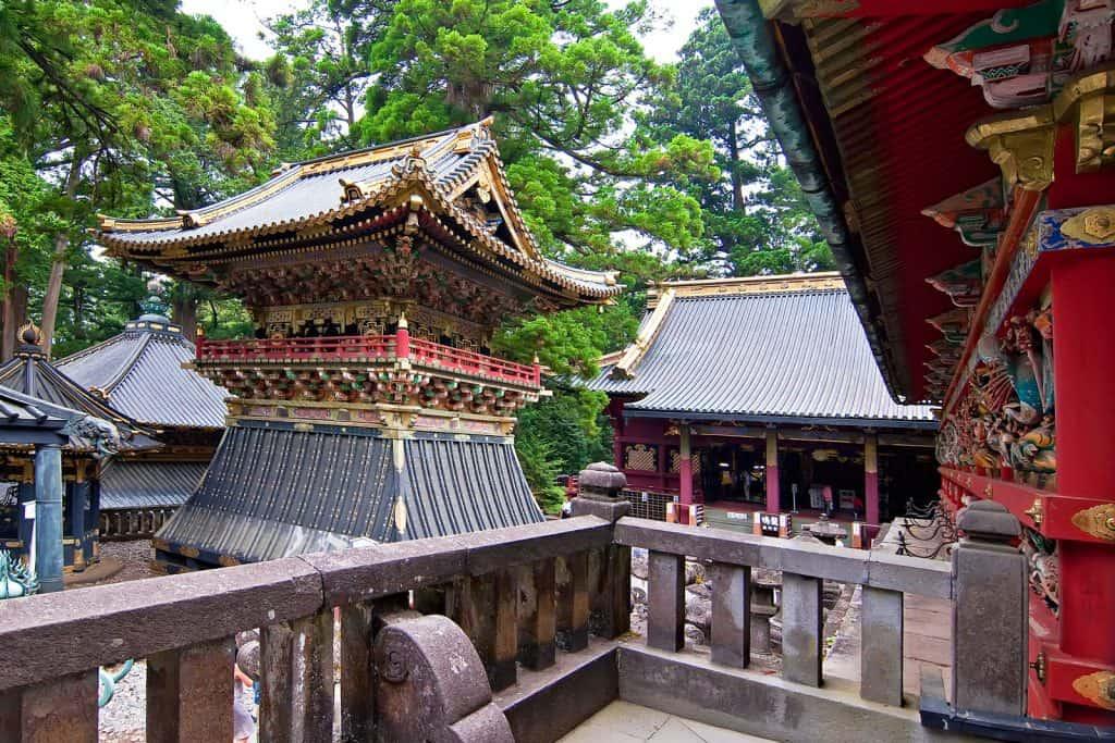 Joint Temple, Nikko, Japan