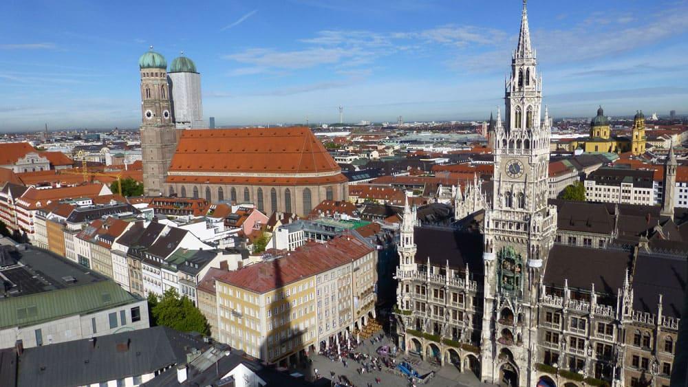 Marienplatz in Munich, Germany