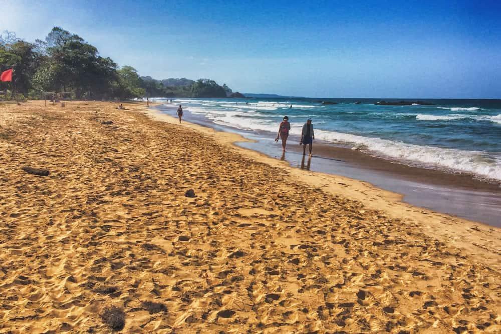 Red Frog Beach on Isla Bastimentos in Bocas del Toro, Panama