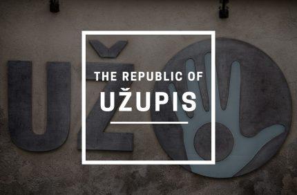 The Republic of Užupis in Vilnius, Lithuania