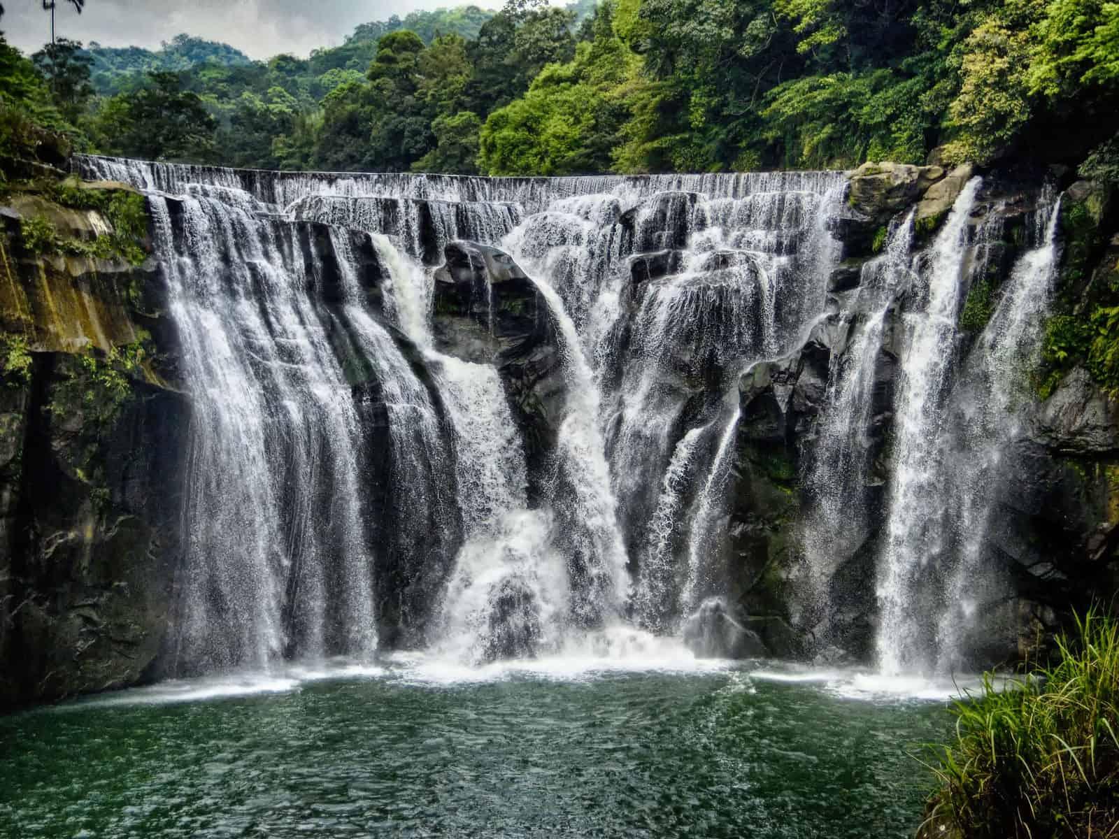 Shifen Waterfall in Shifen, Taiwan