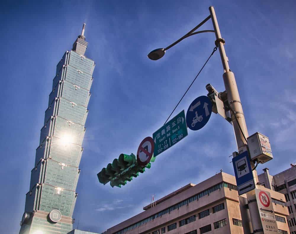 Taipei 101 Up Close