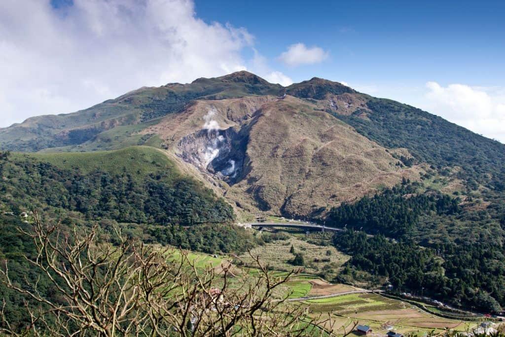Yangmingshan National Park in Taiwan