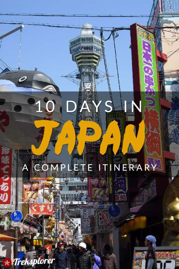 Need some ideas for what to do in Japan? Plan out your trip with this complete 10-day Japan itinerary including suggestions on where to go, things to do, what to eat & where to stay! #japan #travel