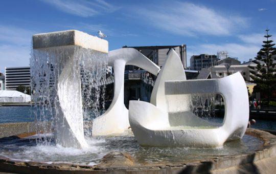 Artistic Wellington, New Zealand