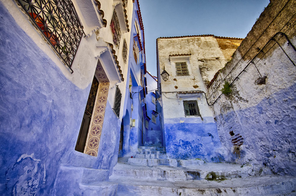 The Streets of Chefchaouen, Morocco