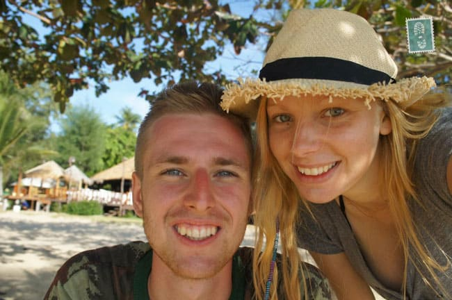 Agness and Cez in Thailand