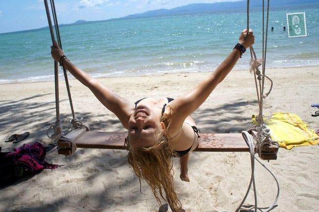 Agness on Koh Phangan Island, Thailand