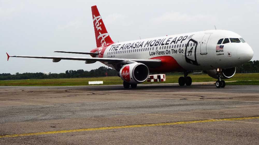 AirAsia Plane in Malaysia