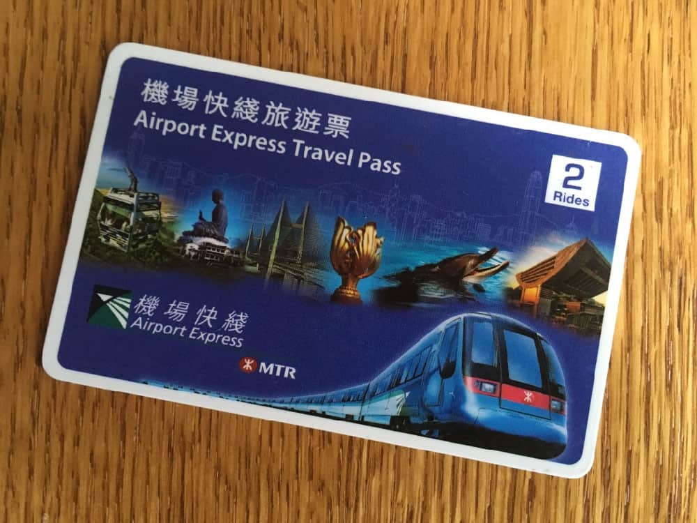 Hong Kong Airport Express & MTR Pass
