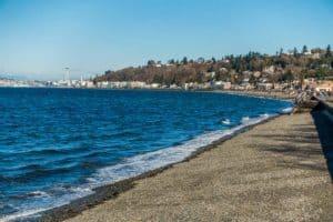 Alki Beach in West Seattle