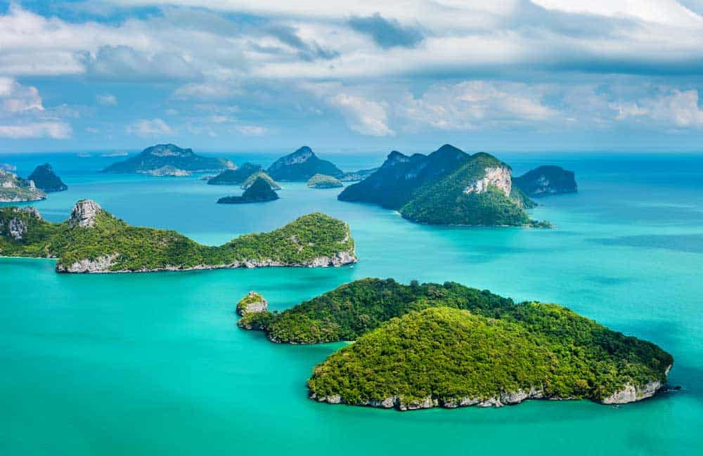 Ang Thong Marine National Park in Koh Samui
