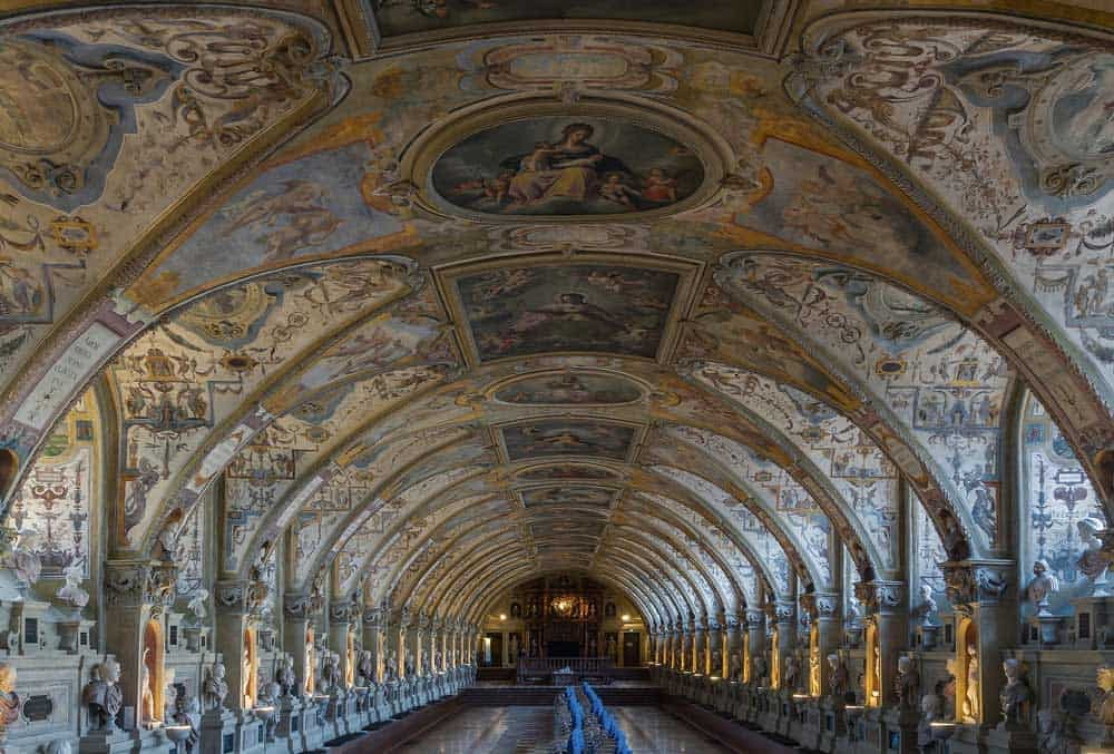 Antiquarium at Munich Residenz in Munich, Germany