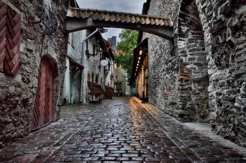 St. Catherine's Passage, Old Town, Tallinn, Estonia