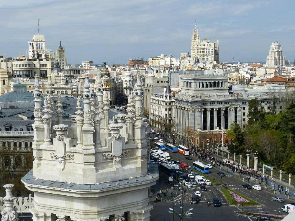 Architecture in Madrid, Spain