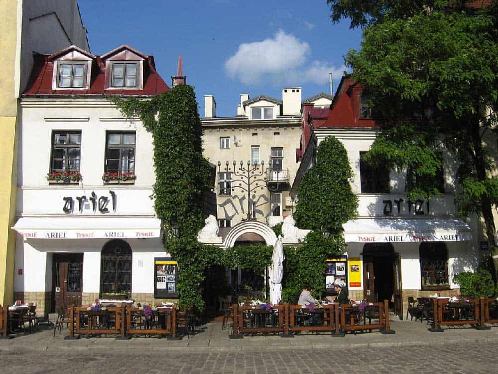 Ariel Restaurant in Kazimierz