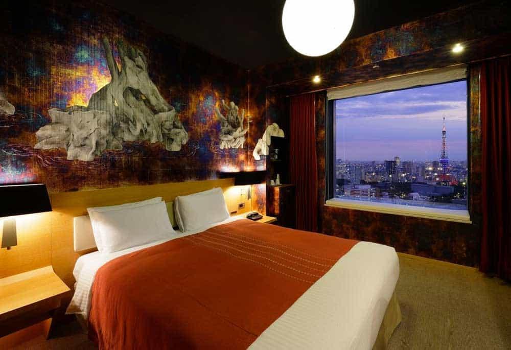 Artist Queen Room at Park Hotel Tokyo