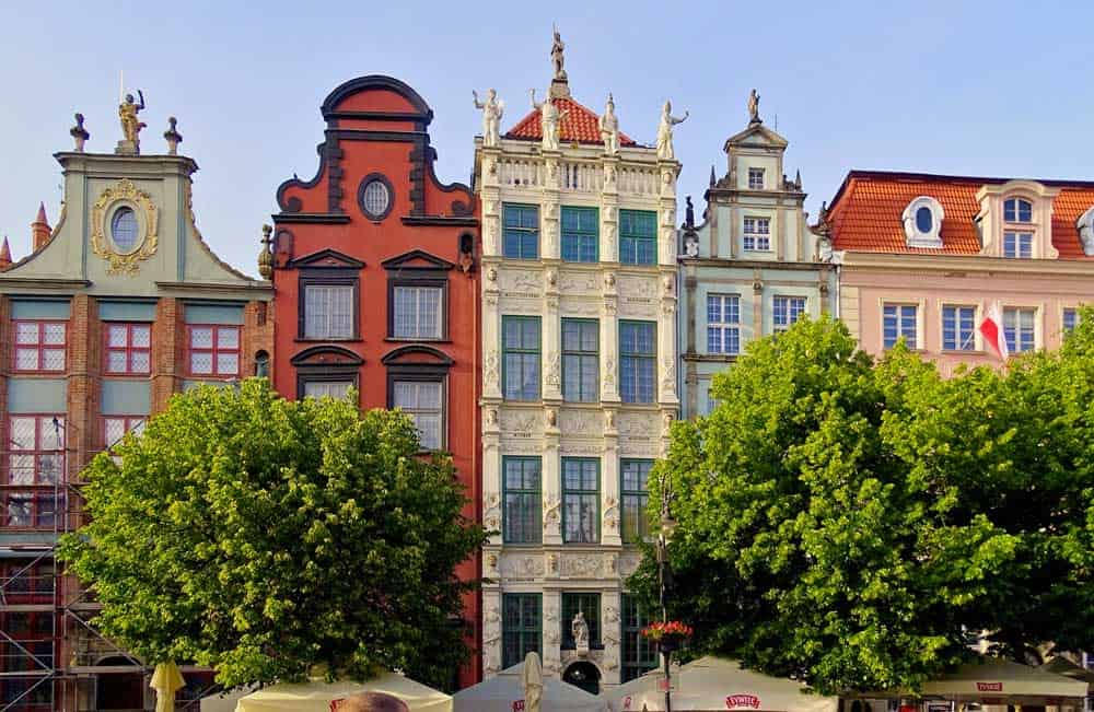 Artus Court in Gdansk, Poland