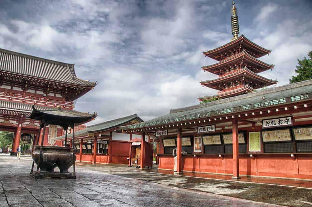 Asakusa in Tokyo, Japan