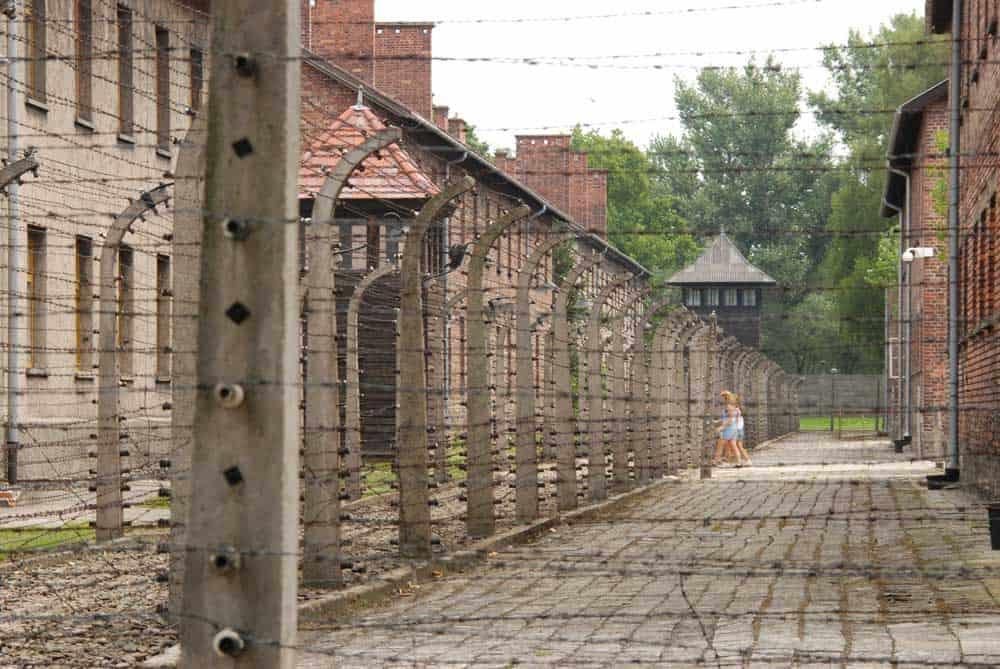 Auschwitz-Birkenau in Oswiecim, Poland