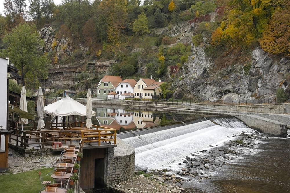 Autumn in Cesky Krumlov, Czech Republic
