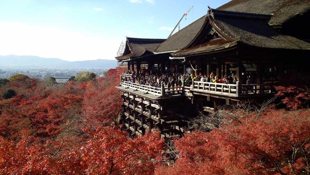 Autumn @ Kiyomizu-dera in Kyoto, Japan