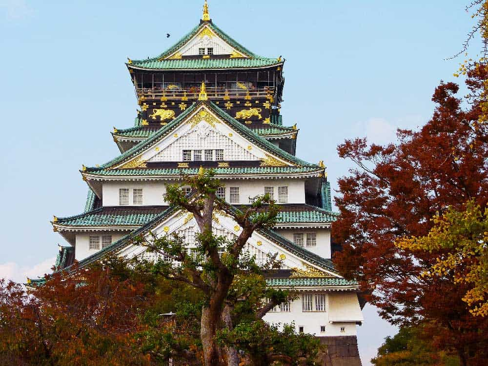 Autumn @ Osaka Castle