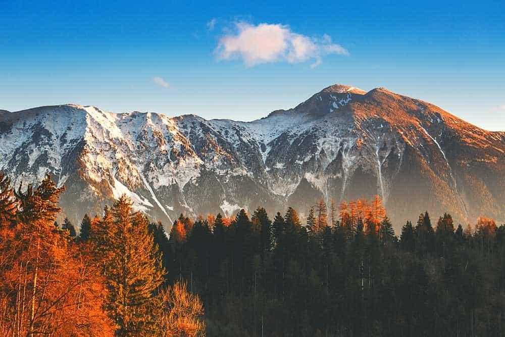 Autumn Sunrise in Bled