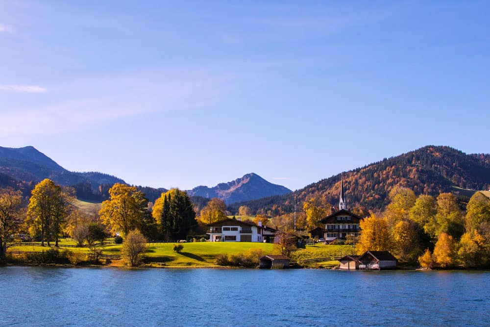 Autumn at Tegernsee, Germany