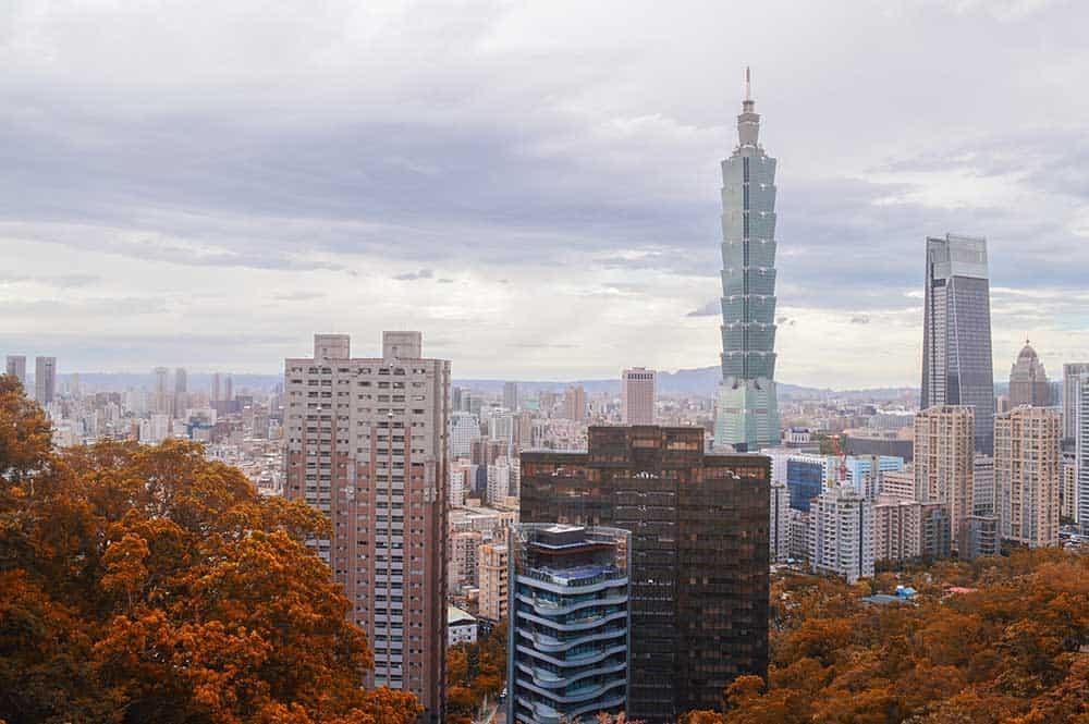 Xinyi District in Autumn