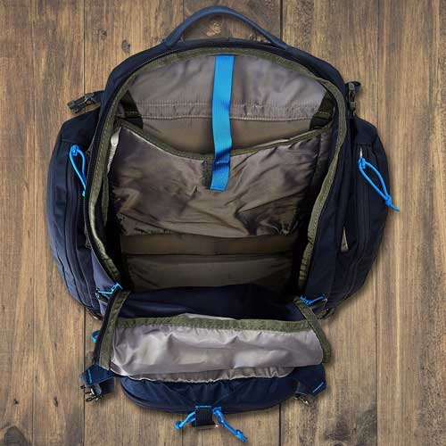 Backpack Main Compartment Access