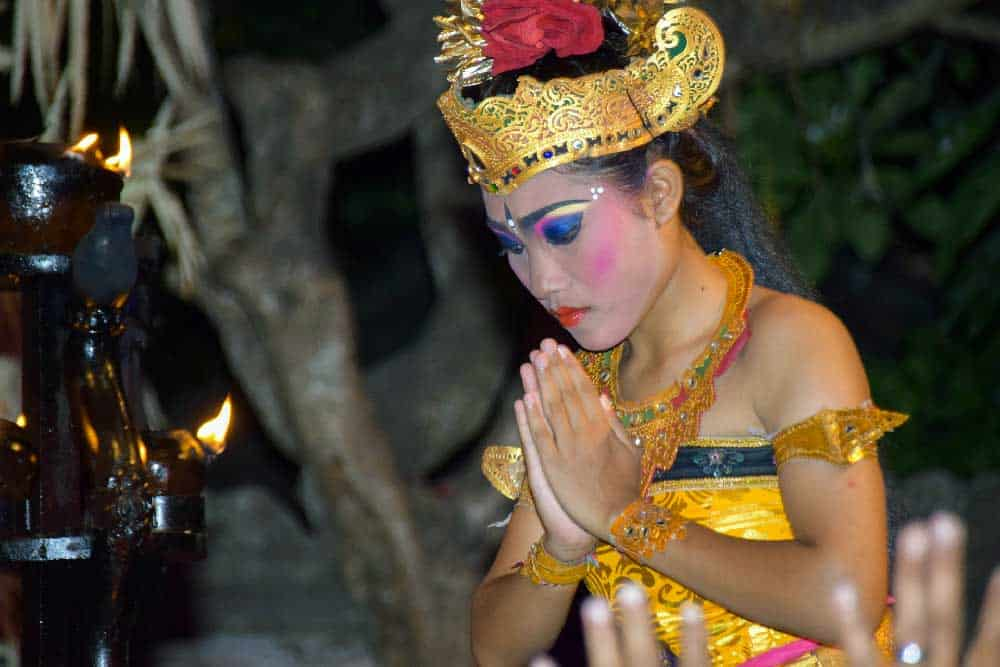 Balinese Dancer in Ubud
