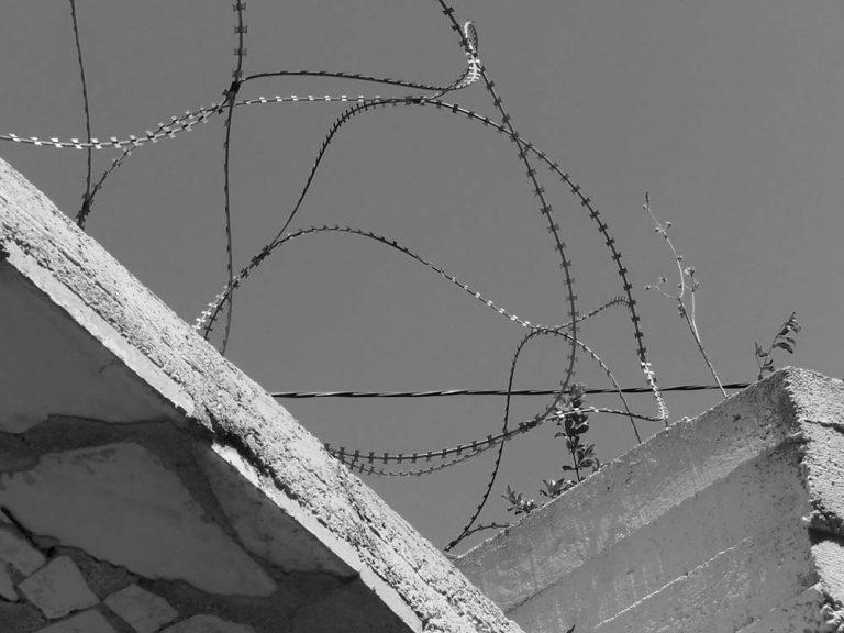 Barb Wire in Mostar, Bosnia & Herzegovina
