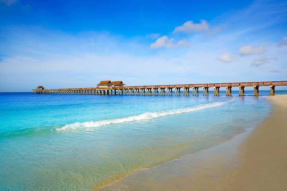 Beach in Naples, FL