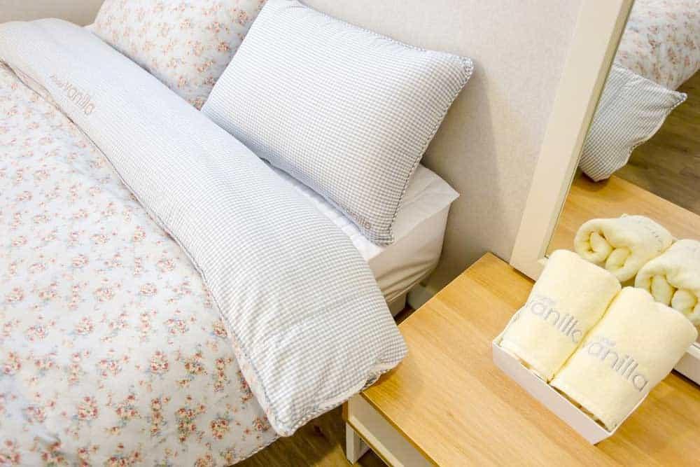 Bed @ Hostel Vanilla 1 Dongdaemun