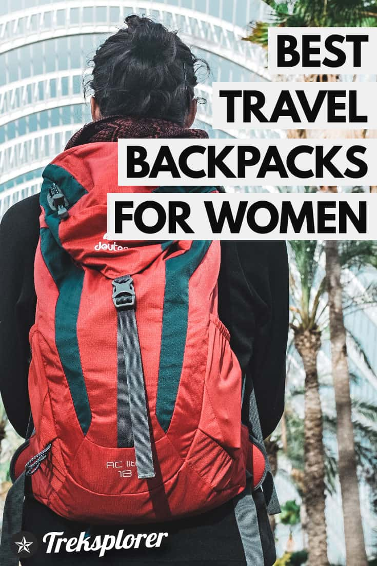 Gearing up for your next trip? Travel in style with one of these best travel backpacks for women! #travelgear