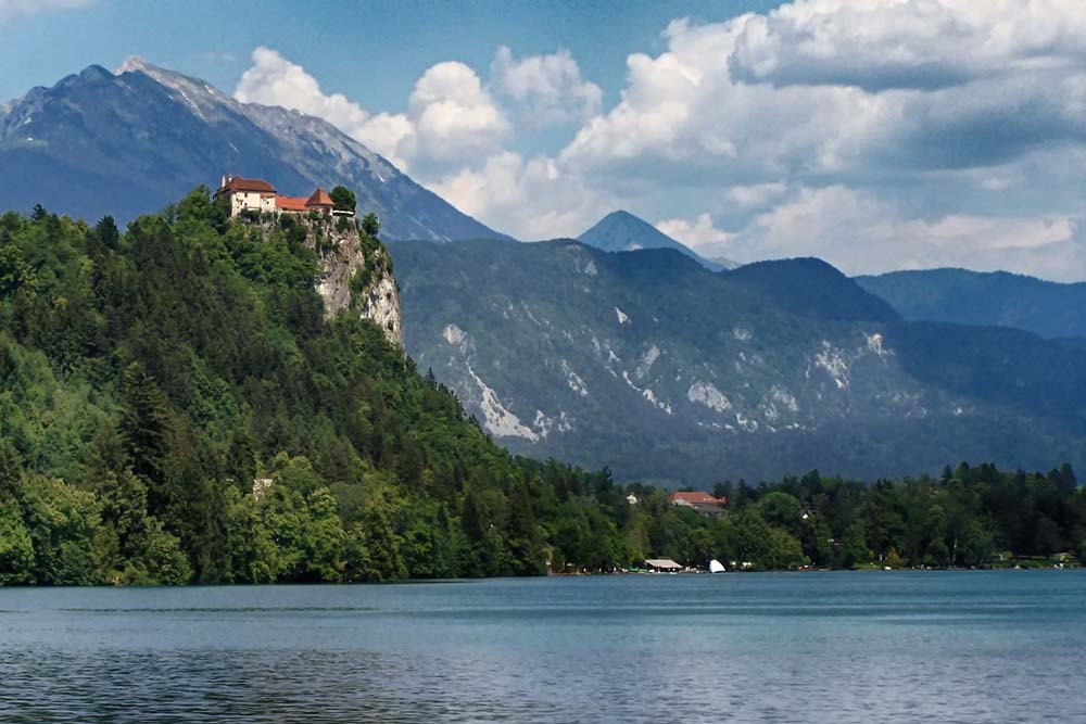 Bled Castle at Lake Bled, Slovenia