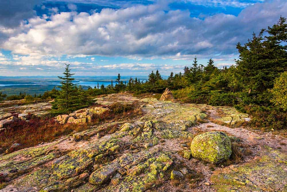 Blue Hill Overlook in Acadia National Park