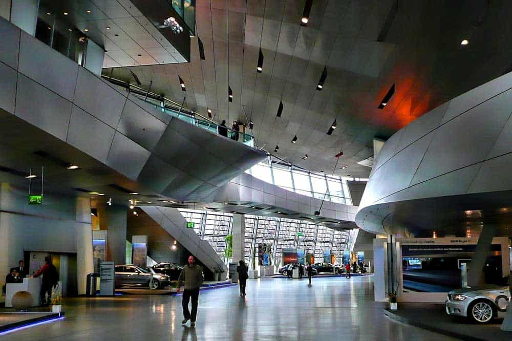 BMW Museum in Munich, Germany