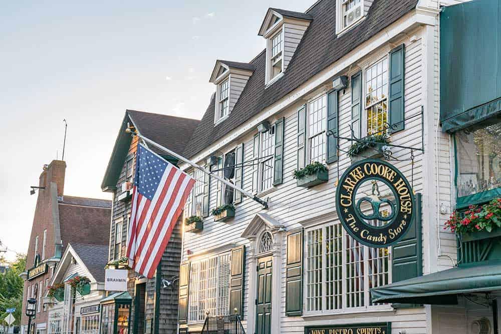 Bowen's Wharf in Newport, Rhode Island