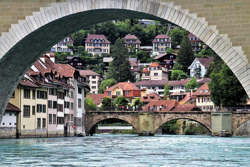 Bridge in Bern, Switzerland