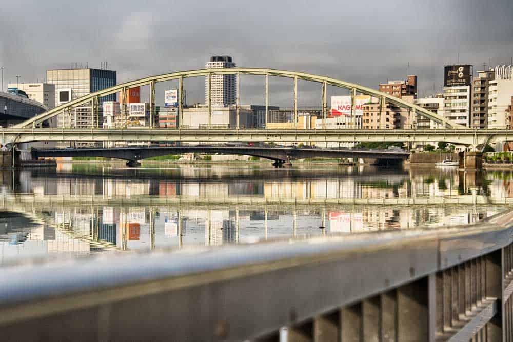 Bridge over the Sumida River in Taito