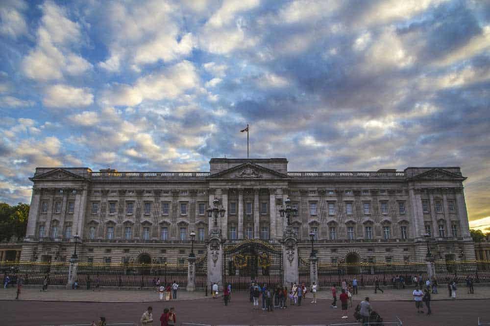 Buckingham Palace in London, England, United Kingdom