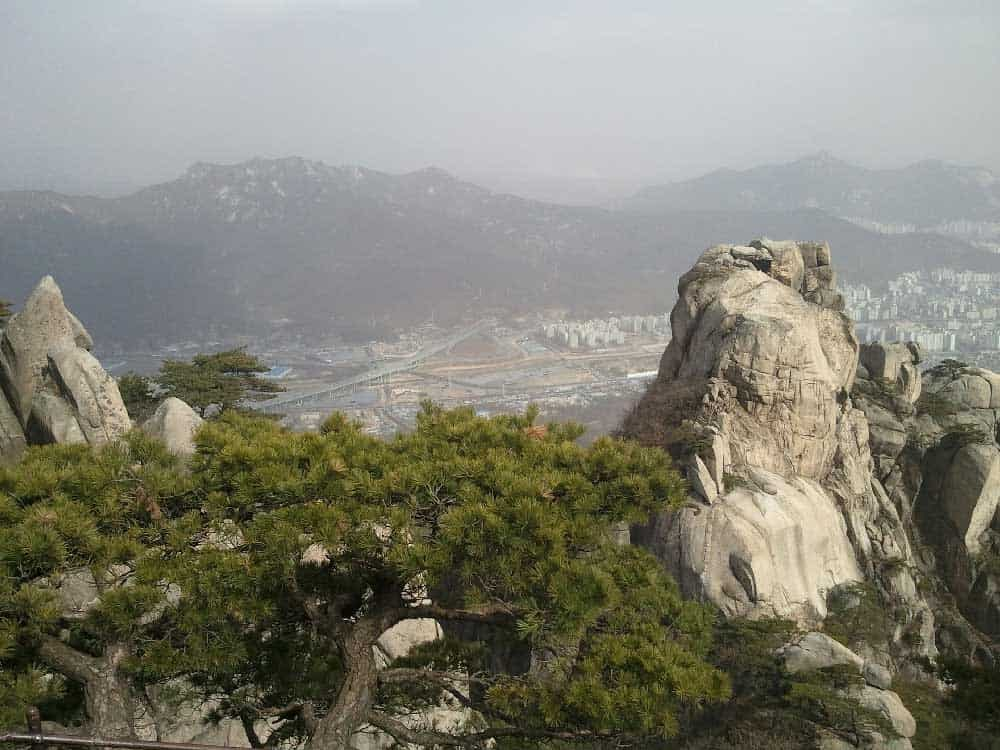 Bukhansan National Park near Seoul, Korea