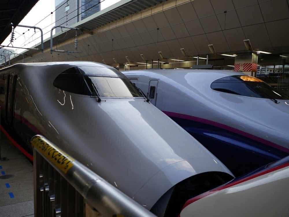 Bullet Train @ Tokyo Station