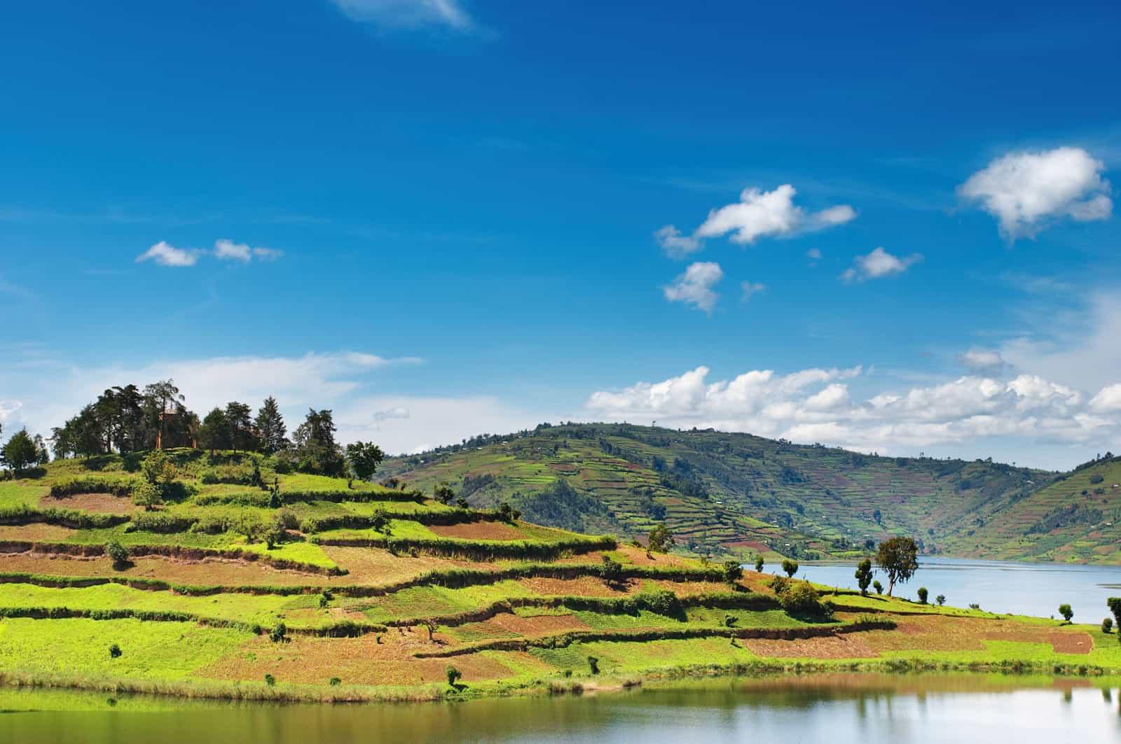 Bunyonyi Lake, Uganda