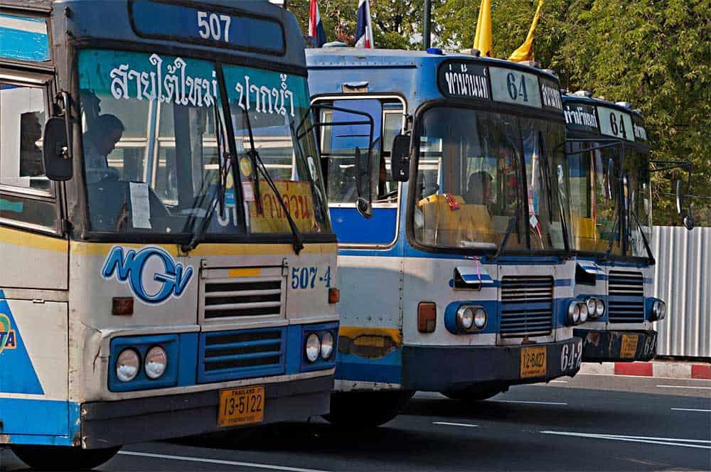 Bus Transportation in Thailand